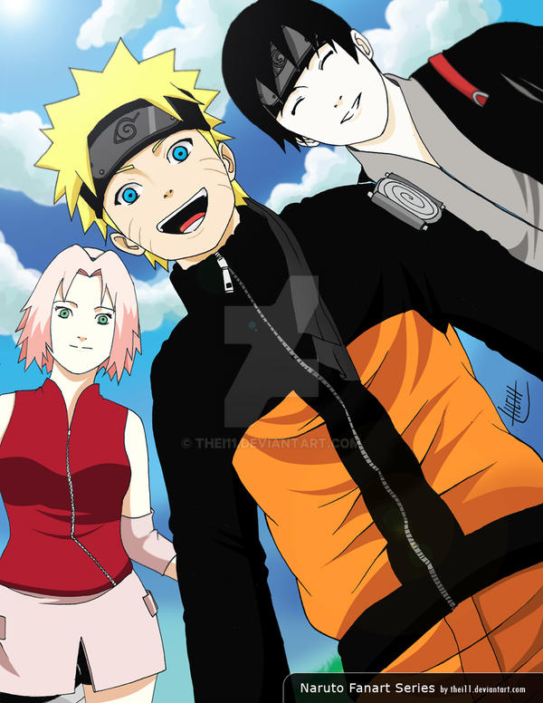 Sakura naruto and sai by thei11 on deviantart sakura naruto and sai by thei11 voltagebd Images