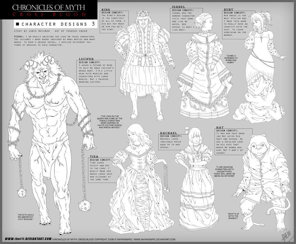 Character Design Concept : Character design concept by thei on deviantart