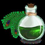 Poisonous Peacock Pixel Potion