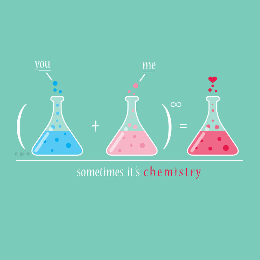 Sometimes it's chemistry.. by Ninjabin