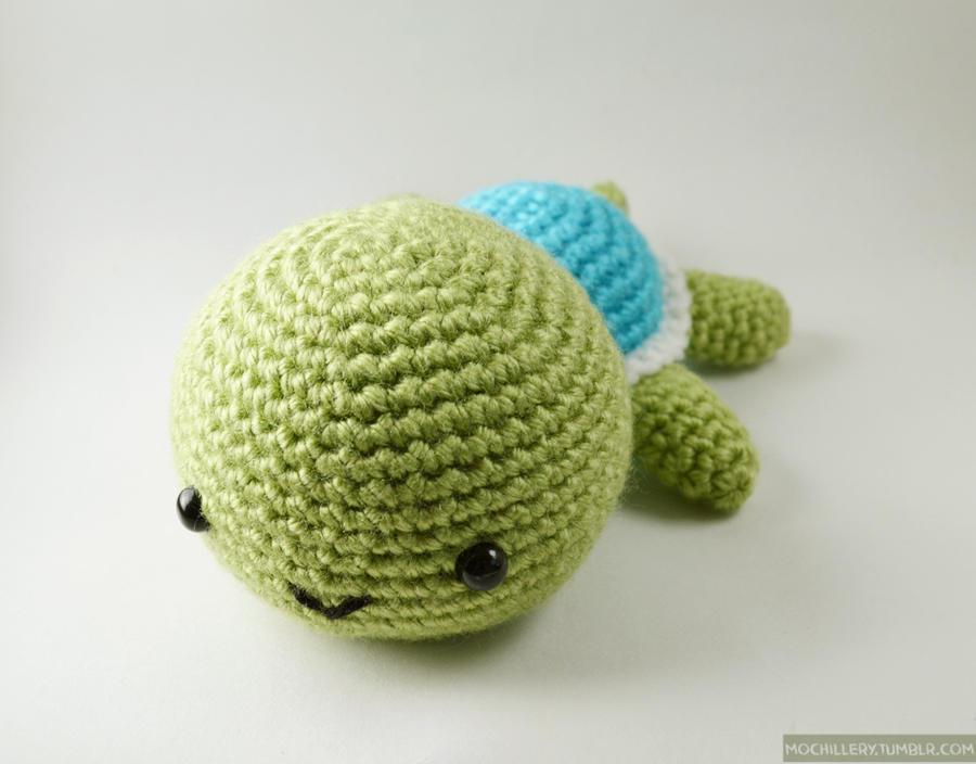Amigurumi Turtle : Turtle amigurumi by mochillery on deviantart