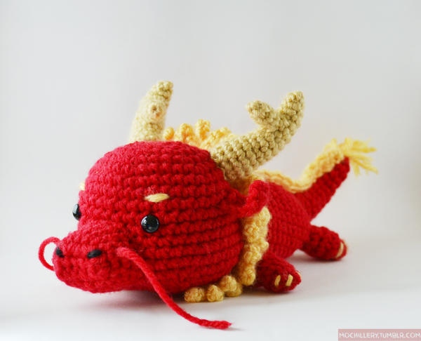 Crochet Amigurumi Dragon : Crochet favourites by linkzincognito on deviantart