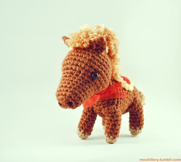 Amigurumi Year Of The Horse : Horse amigurumi by mochillery on DeviantArt