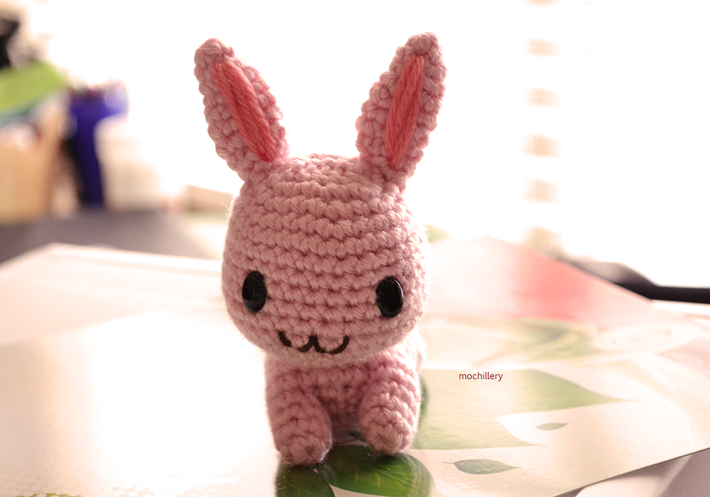 Pink Rabbit2 by mochillery