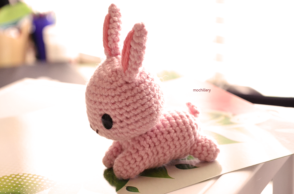 Pink Rabbit by mochillery