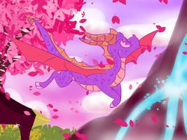 Spyro's dragonfly adventure: Dragonfly dojo (FA) by tloztplover10