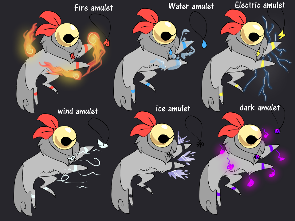 Chimeeko Power amulets by Vap0rwqve on DeviantArt