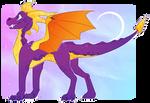 Spyro the purple boi