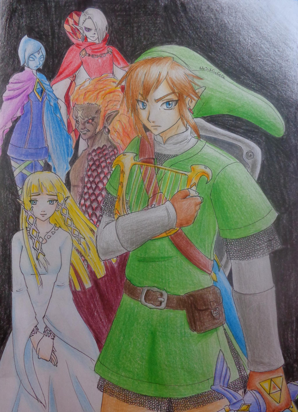 Legend of Zelda:Skyward Sword by NaSiAGrEeCe