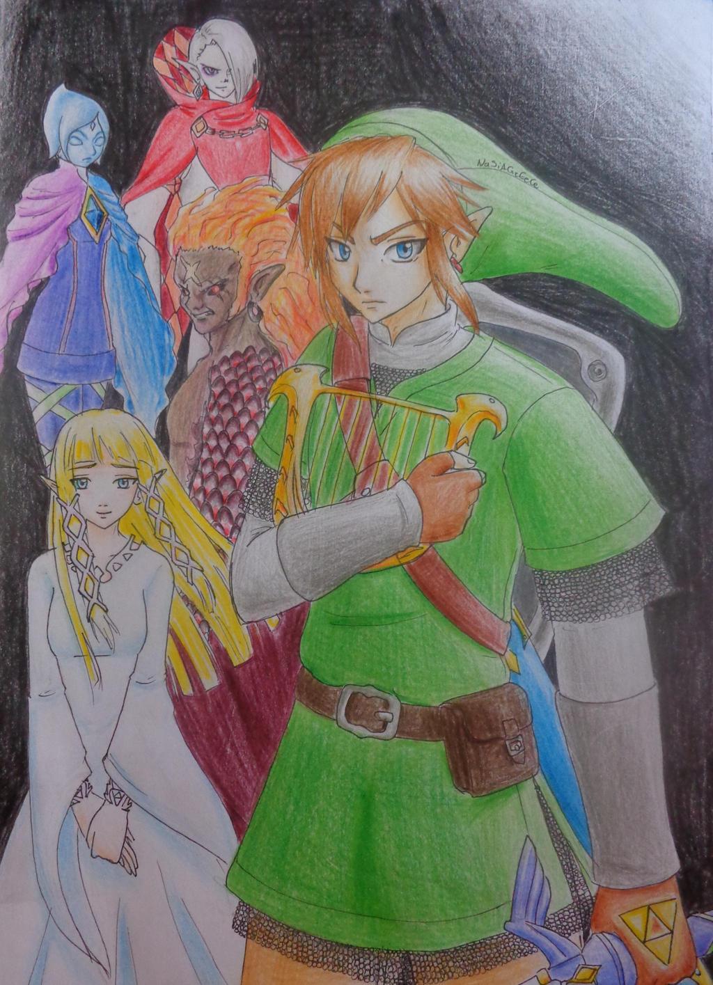 Legend of Zelda:Skyward Sword by NaSiAGrEeCe