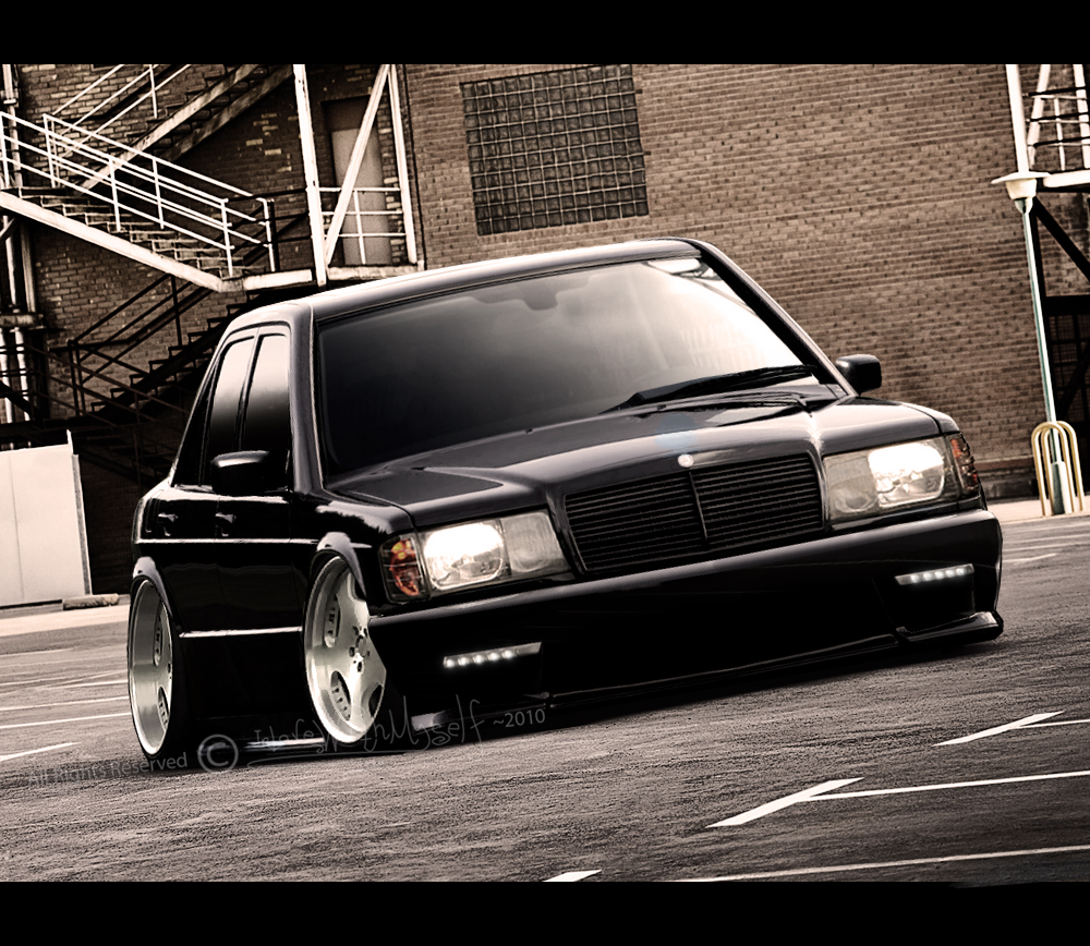 Mercedes 190E By InL0veWithMyself On DeviantArt