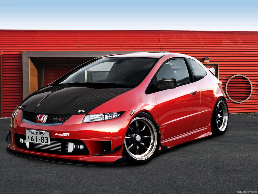 honda civic typer by inl0vewithmyself on deviantart. Black Bedroom Furniture Sets. Home Design Ideas