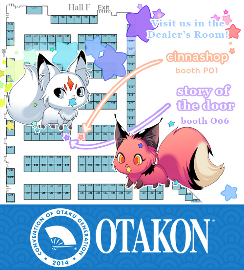 Otakonmap by Cinnamoron