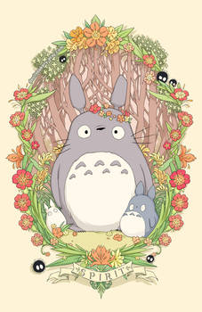 Flower Crown Totoro
