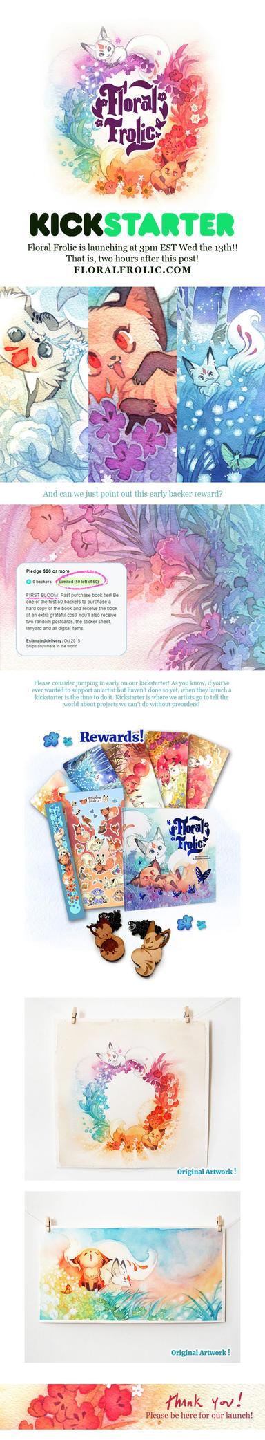 Floral Frolic Kickstarter by Cinnamoron