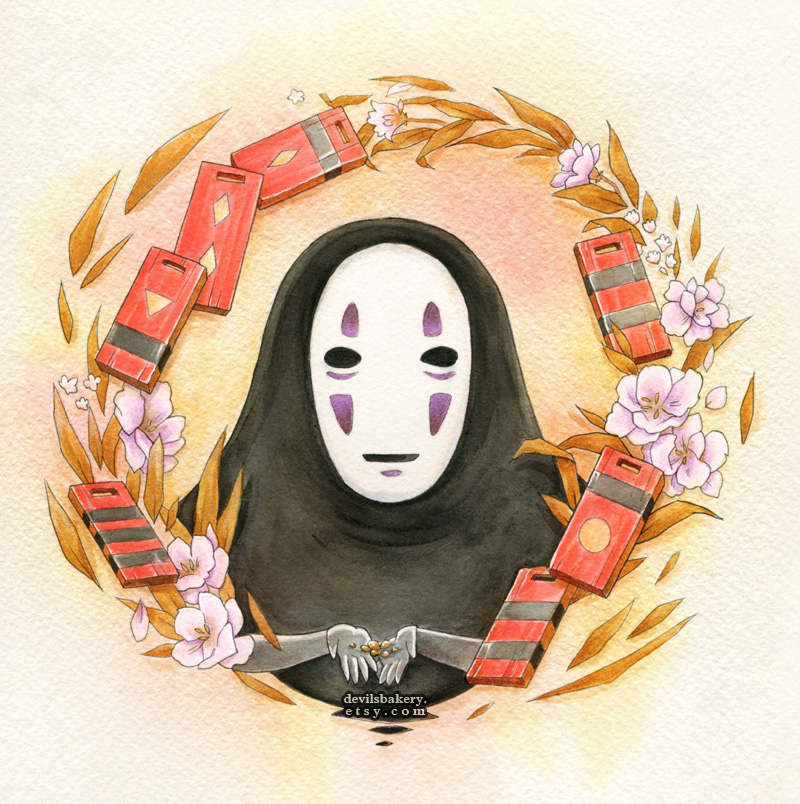No Face Offerings by Cinnamoron