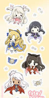 fate/honey stickers!