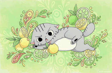 Lime Cat