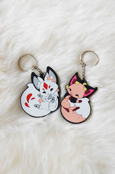 Floral Frolic Rubber Charms