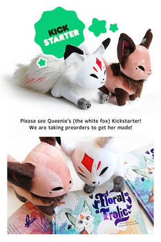 Queenie Plush LIVE on Kickstarter!