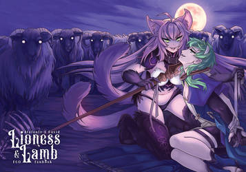Lioness and Lamb Cover