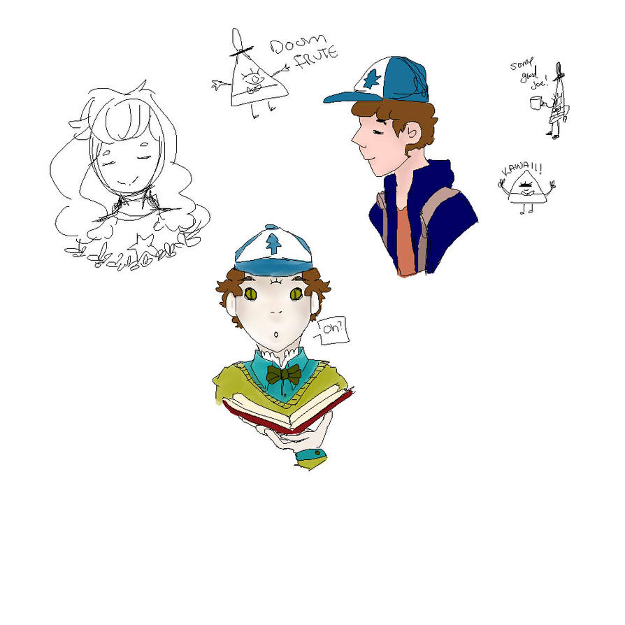Drawing Stickers 2 Line Art Wip by M4geOfSp4ce