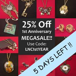 Sale 5days by LikeNewCrafts