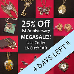 Sale 4 days left!! by LikeNewCrafts