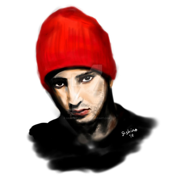 Tyler Joseph Digital Painting by vampirevenge