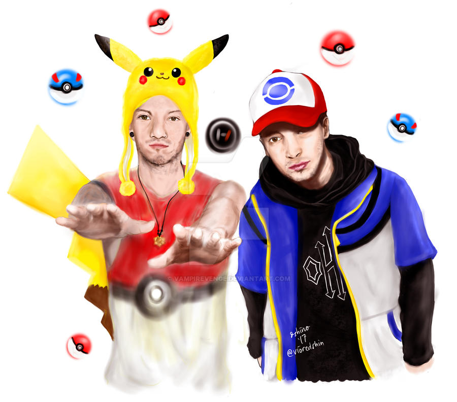 Ty and Josh and Pokemon? XD by vampirevenge