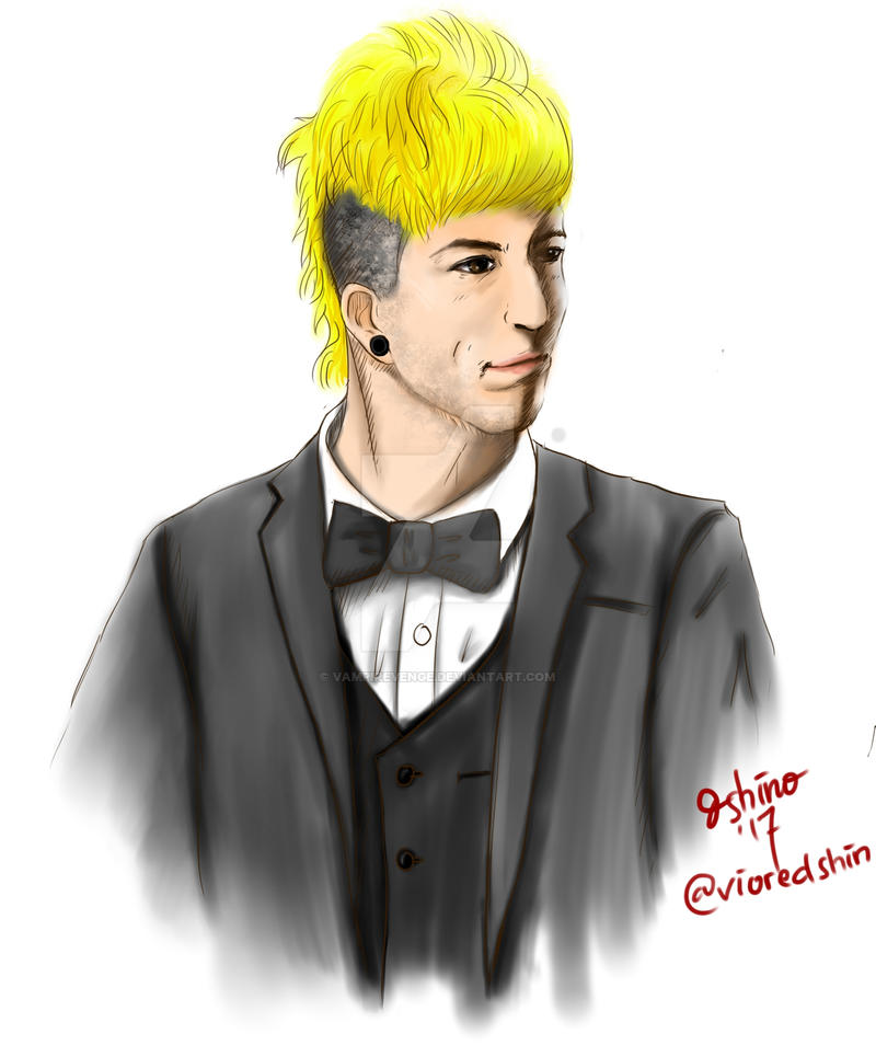 Josh Dun at Grammys by vampirevenge
