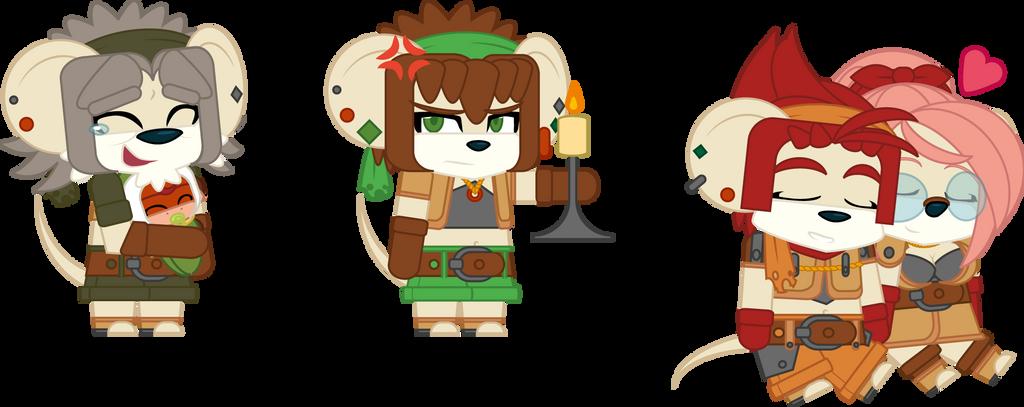 Wolkaz - Main Characters