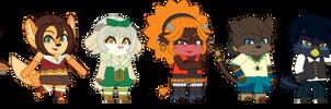 Libertz - Main Characters