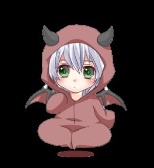 my cutie devil by tainapsilva