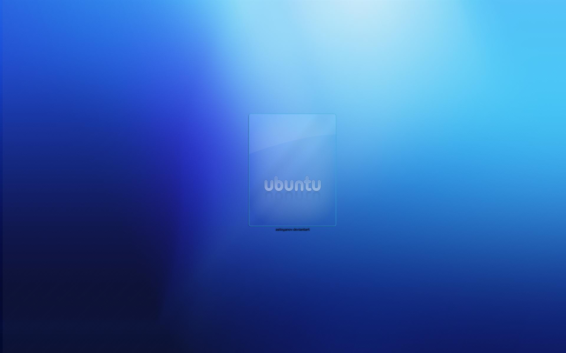 Blue Ubuntu by astoyanov