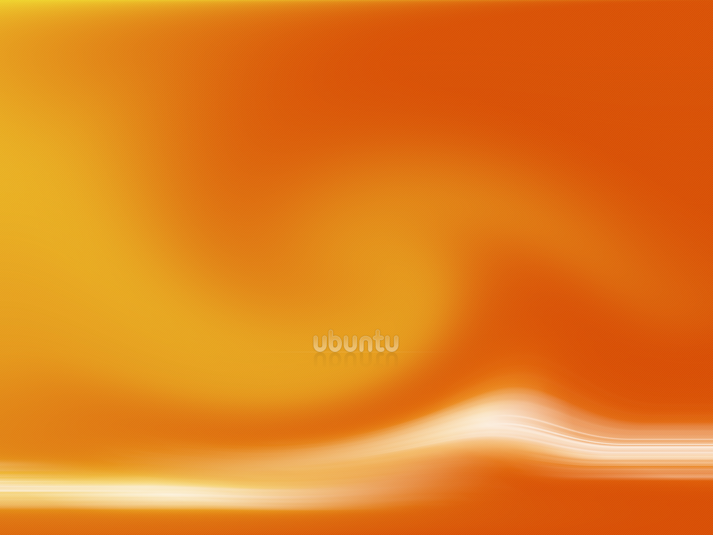 Orange Ubuntu by astoyanov