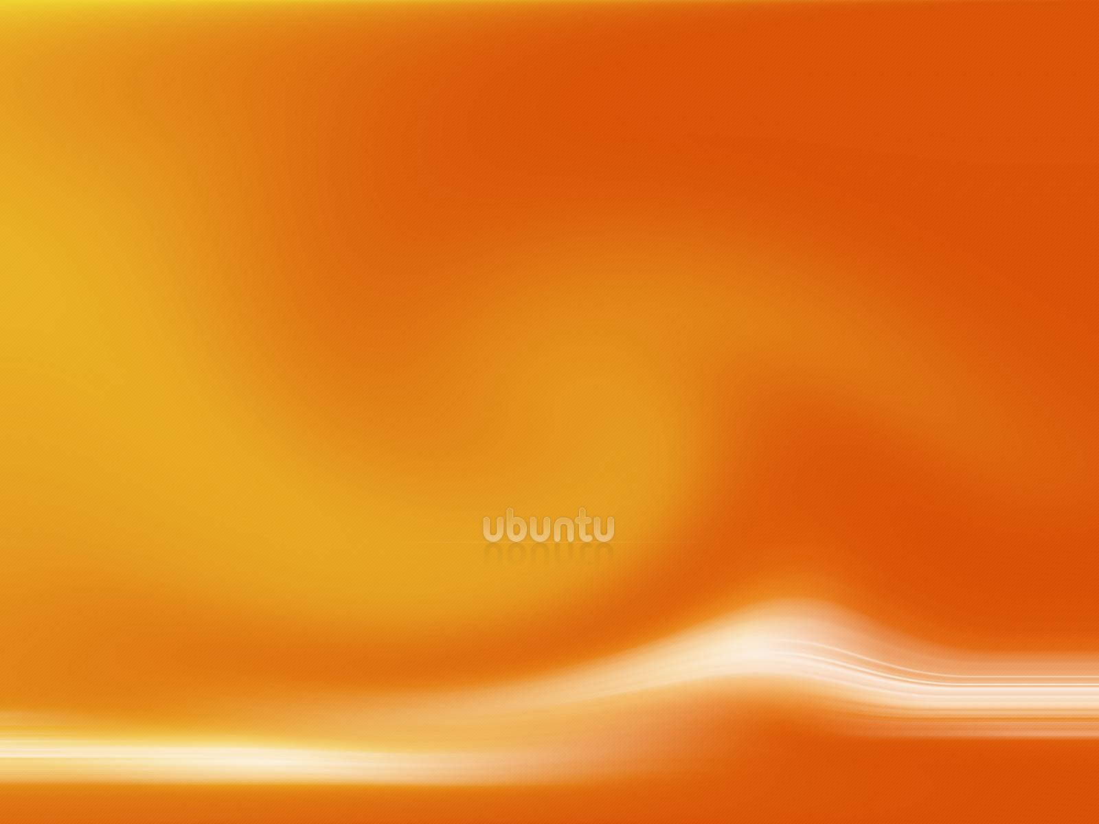 Orange Ubuntu by astoyanov