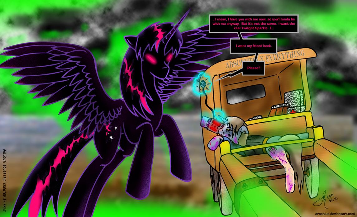 FoE: Pinkie's Last Message By Arconius On DeviantArt