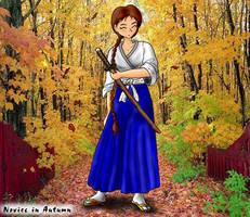 Novice in Autumn by arconius