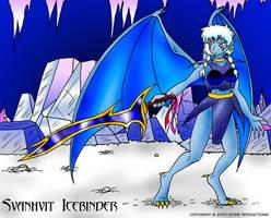 Svanhvit Icebinder by arconius