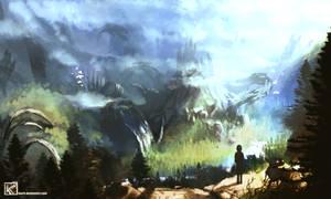 Lost ancients' ruins[16:9 edit] wallpaper