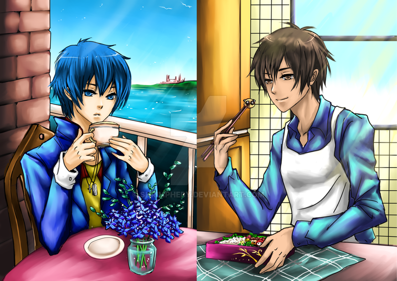 CM Neville and Yuki by shrimpHEBY