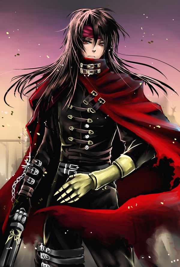 Vincent Valentine by shrimpHEBY
