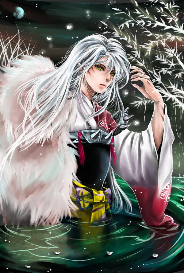 Lord Sesshoumaru by shrimpHEBY
