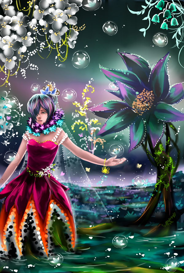 Flower Princess by shrimpHEBY