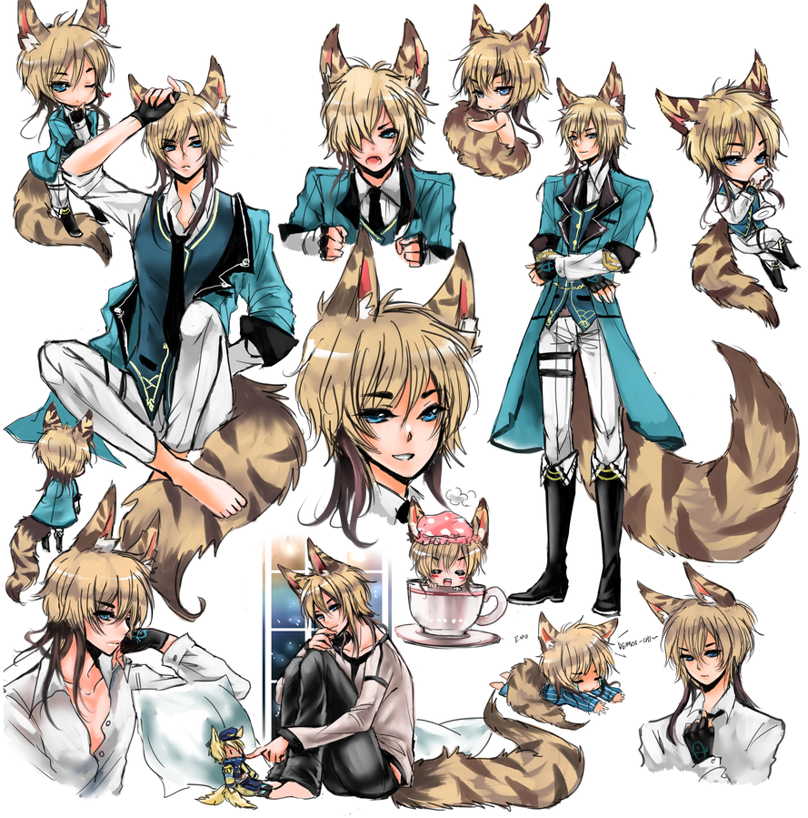 Sketchpage for Vaniraa : Claus by shrimpHEBY