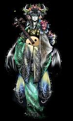 Lady Oni CYOP Adopt (closed)