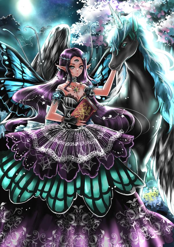 Night Fairy by shrimpHEBY