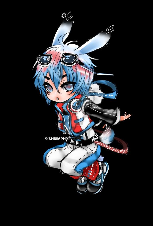 Bunny Chibi by shrimpHEBY
