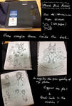 Custom Sketchbook 120 pages Auction Closed